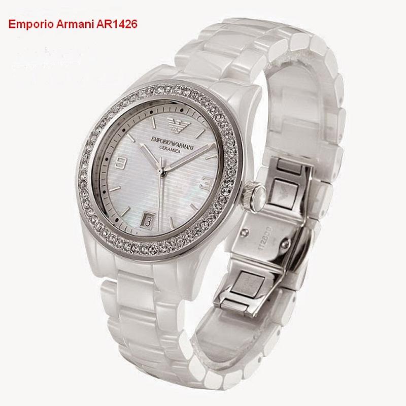 Emporio Armani AR1426 Ceramica. Dámske hodinky  72acf3e82c1